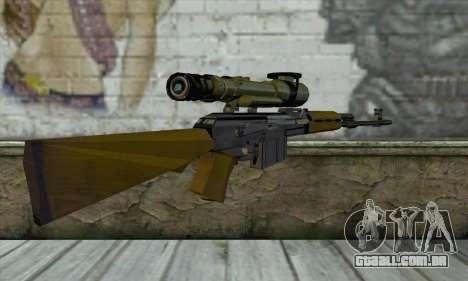 M76 para GTA San Andreas segunda tela