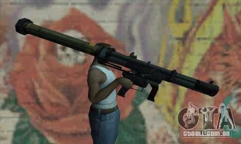 SMAW de BF3 para GTA San Andreas terceira tela