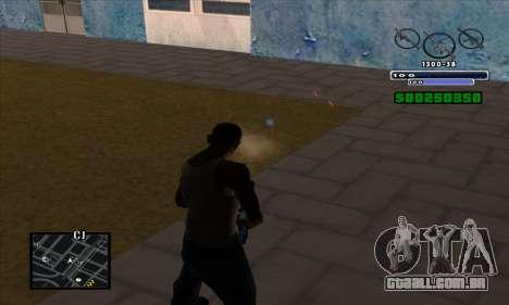 C-HUD para GTA San Andreas por diante tela