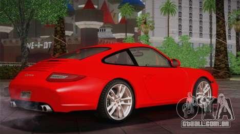 Porsche 911 Carrera para GTA San Andreas traseira esquerda vista