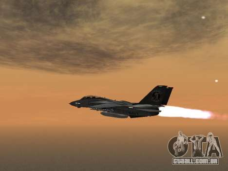 F-14 Tomcat HQ para GTA San Andreas