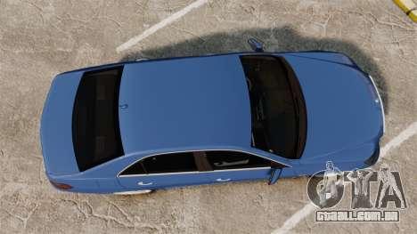 Mercedes-Benz E63 AMG 2014 para GTA 4 vista direita