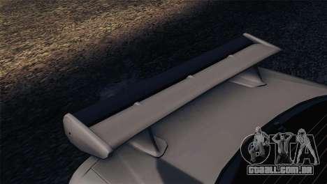 Nissan Skyline GT-R R34 V-Spec Lexani Rims para GTA San Andreas vista direita