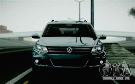 Volkswagen Tiguan 2012 para GTA San Andreas vista traseira