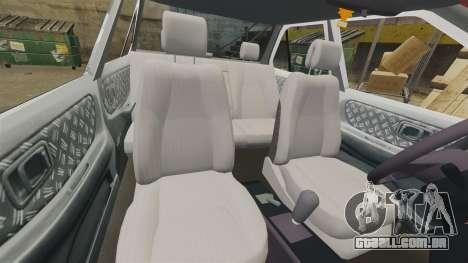 Nissan Tsuru para GTA 4 vista lateral