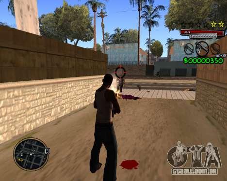 C-HUD by Santoro para GTA San Andreas terceira tela