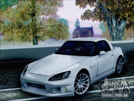 Honda S2000 Daily para GTA San Andreas vista traseira