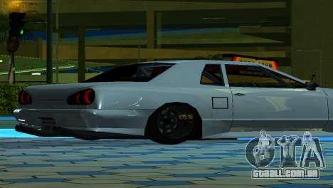 Elegy 280sx v2.0 para GTA San Andreas vista traseira