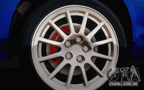 Hyundai Accent Admire 2004 para GTA San Andreas traseira esquerda vista