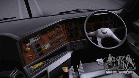 Freightliner Argosy 8x4 para GTA San Andreas traseira esquerda vista