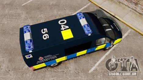 Mercedes-Benz Sprinter Police [ELS] para GTA 4 vista direita
