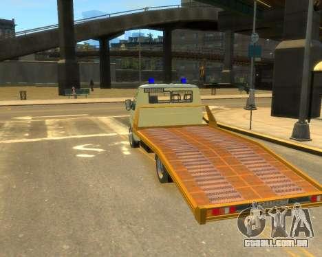 Gazela Evacuador DPS para GTA 4 esquerda vista