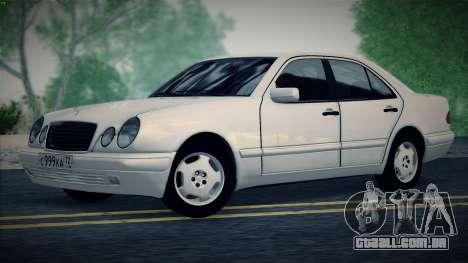 Mercedes-Benz E420 para GTA San Andreas vista direita
