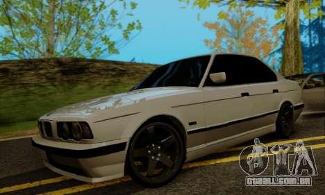 BMW 525 Re-Styling para GTA San Andreas