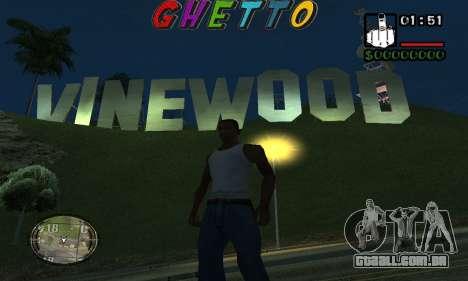 Шапка Gueto por Nick Quest para GTA San Andreas segunda tela