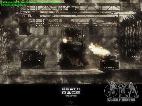Arranque telas de Corrida da Morte para GTA San Andreas por diante tela