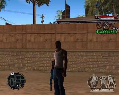 C-HUD by Santoro para GTA San Andreas
