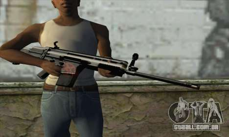 Rifle para GTA San Andreas terceira tela