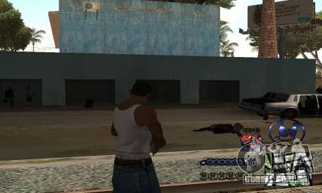 HUD by Anatole para GTA San Andreas segunda tela