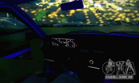 VAZ 21099 para o motor de GTA San Andreas