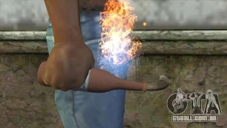 Coquetel Molotov para GTA San Andreas terceira tela