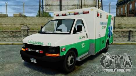 Brute GQ Med Ambulance [ELS] para GTA 4