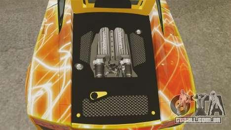 Lamborghini Gallardo 2013 Red Light para GTA 4 vista interior