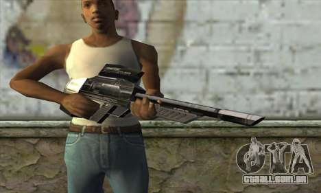 P-Laser Sniper Rifle para GTA San Andreas terceira tela