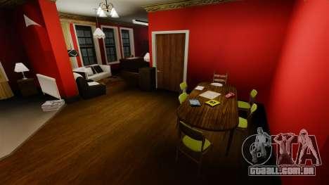 Renovado apartamento na cidade de Alderney para GTA 4 por diante tela