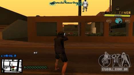 C-Hud by Baton Batya para GTA San Andreas
