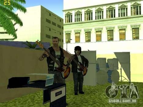 O Filme do concerto para GTA San Andreas sexta tela