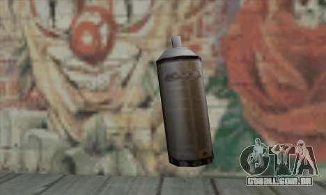 Montana Gold Spray para GTA San Andreas segunda tela