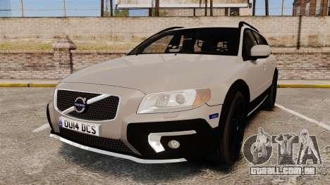 Volvo XC70 2014 Unmarked Police [ELS] para GTA 4