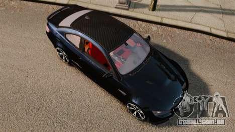 BMW M3 E92 AC Schnitzer ACS3-Sport para GTA 4 vista direita