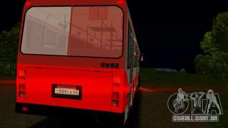 LIAZ-5256 para GTA Vice City vista inferior