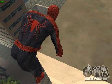 Homem-aranha para GTA San Andreas por diante tela
