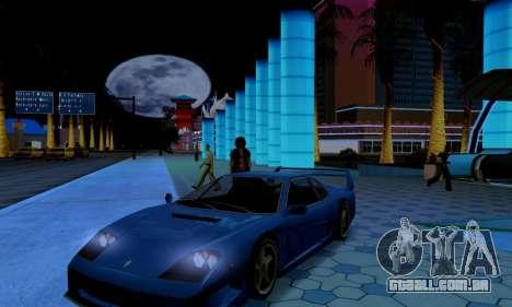 ENB CUDA 2014 for Low PC para GTA San Andreas por diante tela