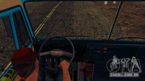 KamAZ-4310 para GTA San Andreas vista traseira