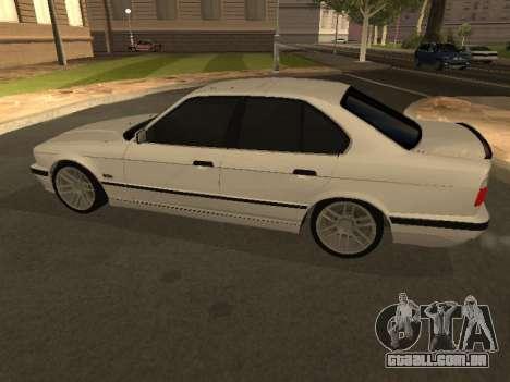 BMW 525 Smotra para GTA San Andreas esquerda vista