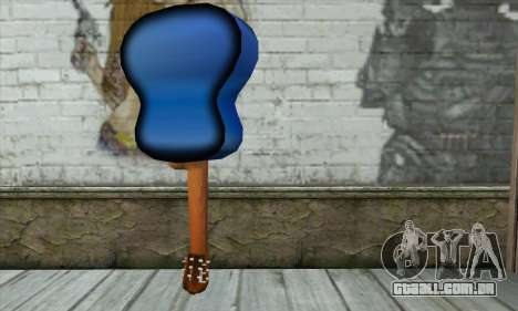 Guitarra para GTA San Andreas segunda tela