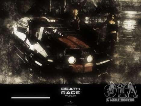 Arranque telas de Corrida da Morte para GTA San Andreas quinto tela