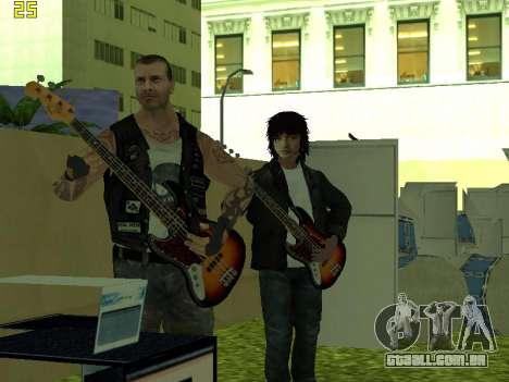 O Filme do concerto para GTA San Andreas quinto tela
