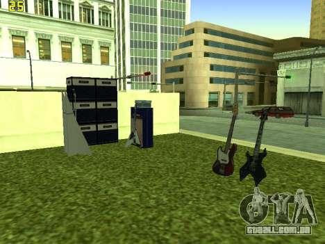O Filme do concerto para GTA San Andreas por diante tela
