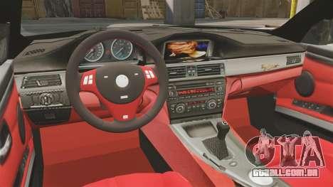BMW M3 E92 AC Schnitzer ACS3-Sport v2.0 para GTA 4 vista interior