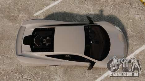 McLaren MP4-12C 2012 [EPM] para GTA 4 vista direita