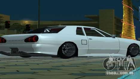 Elegy 280sx v2.0 para GTA San Andreas interior