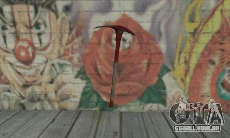 Pickaxe para GTA San Andreas segunda tela