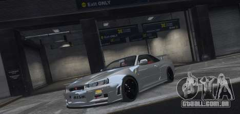 Nissan Skyline GTR-34 Nismo Z-Tune para GTA 4