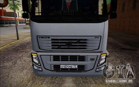 Volvo FH16 440 para GTA San Andreas vista interior