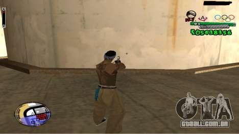 C-HUD By Fedya para GTA San Andreas segunda tela